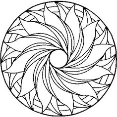 detailed mandala coloring sheets | Coloring Pages For Kids...