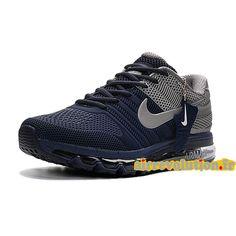 on sale 72e4c f26d3 Chaussures de BasketBall Pas Cher Pour Homme Nike Air Max 2017 BleuGris  1609260153