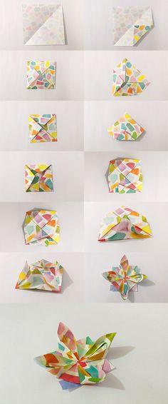 Click to see the full tutorial Creojam | Paper Flower | Origami Folding | DIY Tutorial | Craft | Easy DIY Project | Fun Idea | Handmade | Creative