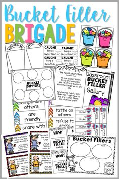 Do you long to have a classroom of Bucket Fillers but don't know how to get started introducing the concept of Bucket Filling?  Maybe your class needs to join The Bucket Filling Brigade! Create a classroom climate of Bucket Fillers with this resource packet chock full of goodies! Create a whole class Anchor Chart to …