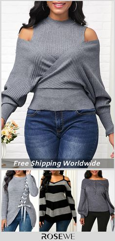 monk neck sweater for Simple Outfits, Sexy Outfits, Trendy Outfits, Fall Outfits, Cute Outfits, Fashion Outfits, Fashion Trends, Blouses For Women, Sweaters For Women