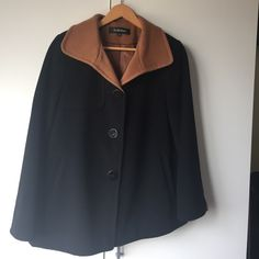 Ellen Tracy coat Absolutely gorgeous! Worn once but sadly it doesn't fit me anymore ! size PS Ellen Tracy Jackets & Coats