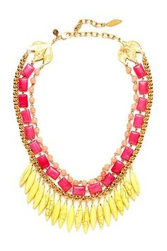 Kalliope Multi-Strand Necklace by David Aubrey on @HauteLook