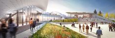 Gallery of New Images Revealed of Diller Scofidio + Renfro's U.S. Olympic Museum as Project Breaks Ground - 2