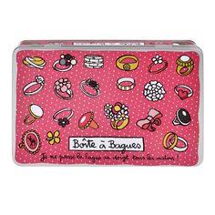 Boîte à bagues Au doigt - Rose - Derrière La Porte DLP - Boite produits de beauté/Boite rangement bijoux - espritlogis-fr