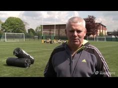 Warren Gatland: Clear out (removing the threat) - trailer Rugby Coaching, Rugby Training, Rugby Men, Drills, How To Remove, Sports, Youtube, Hs Sports, Rugby Workout