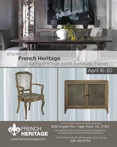 Shades Of French Heritage During Spring High Point Market 2016 HPMKT Elite Furniture  Gallery Www.