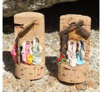 Presépio Pre Christmas, Christmas Nativity, Christmas Projects, All Things Christmas, Nativity Creche, Nativity Crafts, Nativity Scenes, Stone Crafts, Wood Crafts