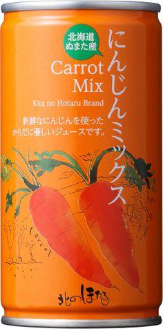 にんじんミックス(190g) - Kita no Hotaru. I just found the carrot too PD
