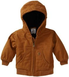 Amazon.com: Carhartt Baby-boys Infant Active Quilted Flannel Lined Jacket: Clothing