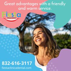 We have all the dental services for you Dental Services, Fiesta Party