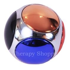 """Neat 1-1/2"""" spinning fidget ball with 6 spinning discs! Grasp 2 opposing discs on this unique cube-shaped fiddle and spin the entire ball, or use your fingertip to twirl individual discs. Finger Tip Spinner Balls are an engaging fidget spinner that never stops entertaining. Kids and adults who have restless fingers and overly active minds (that have a difficult time slowing down) will adore this very colorful, silent finger exerciser fidget."""