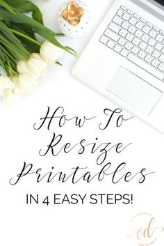 How To Resize Printables in 4 Easy Steps with Video Tutorial