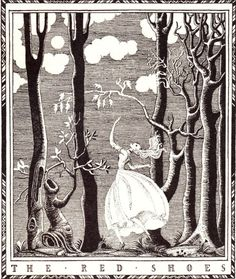 illustration by Kay Nielsen for The Red Shoes.