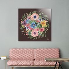 Discover «SPRING II», Exclusive Edition Acrylic Glass Print by Gloria  Sánchez - From 65€ - Curioos