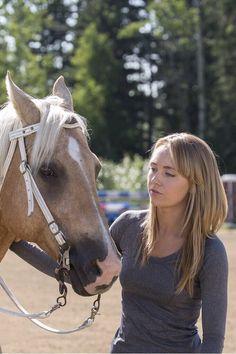 Amber Marshall as Amy Fleming on Heartland