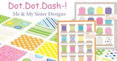 Dot Dot Dash by me and my sister