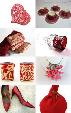 RED by Matylda on Etsy--Pinned+with+TreasuryPin.com