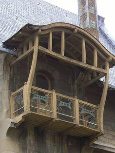 France. Villa Majorelle, Nancy, 1902 // Henry Sauvage