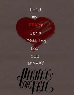 Pierce the Veil just cuz vic ; Kinds Of Music, Music Love, Music Is Life, Pierce The Veil Lyrics, I Cant Forget You, Pretty Much Band, Hold My Heart, Screamo, Mayday Parade