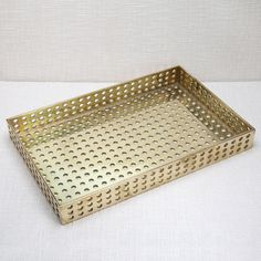 PRECISION TRAY Decorative Accessories, Home Accessories, Step By Step Drawing, Home Organization, Design Projects, Objects, Bronze, Modern, Handmade