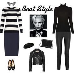 """Beat Style"" by marianariva on Polyvore"