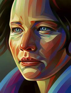 Jannifer Lawrence Portrait Illustration #portraitillustration #illustrationart #digitalart