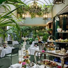 Afternoon Tea at The Chesterfield Mayfair, London