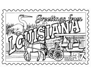 USA-Printables: State of Louisiana Coloring Pages - Louisiana tradition and culture coloring pages
