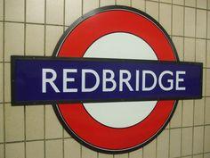 Redbridge London Underground Station in London, Greater London