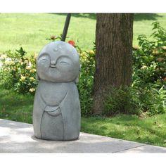 Hi-Line Gift Ltd. Smiling Lucky Japanese Jizo Statue You'll Love | Wayfair