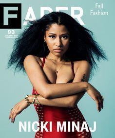 Nicki Minaj graces the cover of Fader!