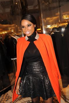 Jennifer Hudson at the Versace Vibe Opening