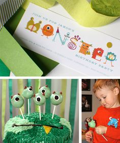 Monster party via http://littlefrills.tumblr.com