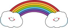 Rainbow and Smiling Clouds From my Rainbow God always combined with Rainbow Nature God always combined with Me Rainbow.  ❤