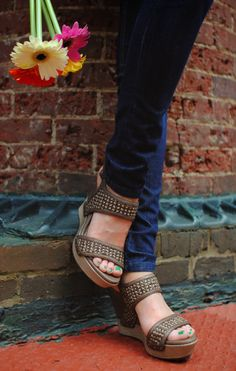 UGG® Australia's newest women's leather wedge sandal for spring – the #Assia #LetsGetLost #UGGSpring2013