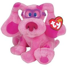 Ty Magenta - Blues Clues >>> Want to know more, click on the image. (This is an affiliate link) #StuffedAnimalsPlushToys