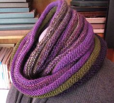 Boomslang by Susanne Reese. malabrigo Worsted and other yarns.