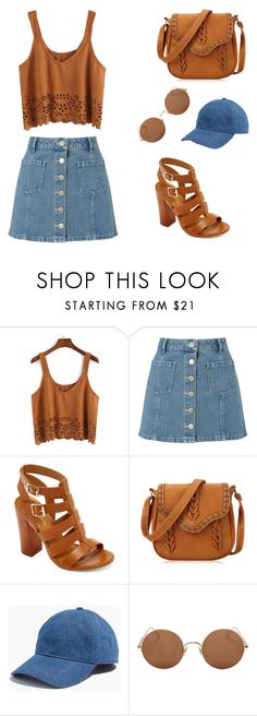 """""""Denim and Swade"""" by kiaracmccarthy on Polyvore featuring Miss Selfridge, Bamboo, Madewell and Sunday Somewhere"""
