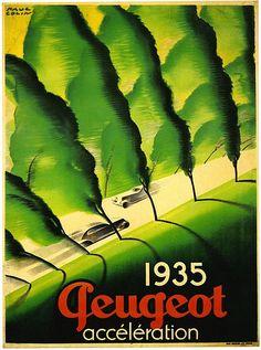 Paul Colin. Peugeot. 1935