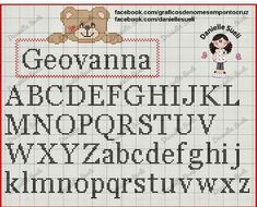 Cross Stitch Letter Patterns, Cross Stitch Letters, Mini Cross Stitch, Cross Stitch Charts, Cross Stitch Designs, Stitch Patterns, Cross Stitching, Cross Stitch Embroidery, Alphabet Disney