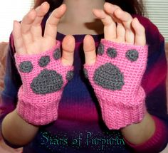 Mitones Gatito  Kawaii Gato Guantes Invierno por StarsOfPurpurin Diy Gifts For Men, Christmas Gifts For Women, Gifts For Teens, Crochet Gloves, Knit Crochet, Kitten Mittens, Best Friend Gifts, Mitten Gloves, Girl Gifts
