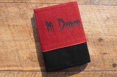 "Carnet rechargeable en tissu ""Mi Ange,Mi Demon"" collection tattoo"