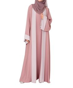 Hanifa Abaya – Al Shams Exceptional Islamic Apparel Abaya Fashion, Cardigan Fashion, Modest Fashion, Fashion Dresses, Muslim Women Fashion, Abaya Designs, Turkish Fashion, Muslim Dress, Hijab Chic