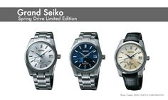 Grand -Seiko Spring Drive Limited Edition