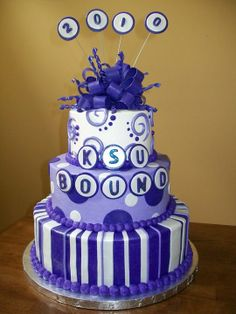 KSU Cake, hope to someday make this for Nicolas and Brinley :) (or have it made)