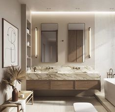 Beige Living Rooms, Box Houses, Branding, Concept Architecture, Bathroom Interior Design, Room Inspiration, Design Projects, Furniture Design, Behance