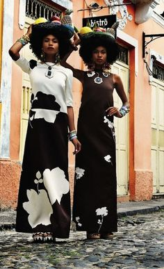 Miranda Reloaded: Over the top styling by ADR | African Prints in Fashion
