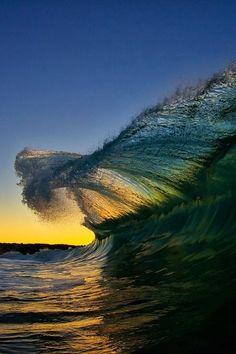 catch a wave.
