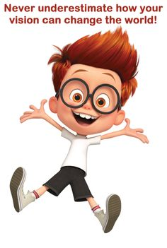 Never underestimate the impact your vision can have in the lives of others or how your vision can change the world! Cute Cartoon Pictures, Cartoon Pics, Cartoon Drawings, Cartoon Characters, Cartoon Wallpaper Hd, Funny Wallpapers, Cartoon Boy, Animation, Art Graphique